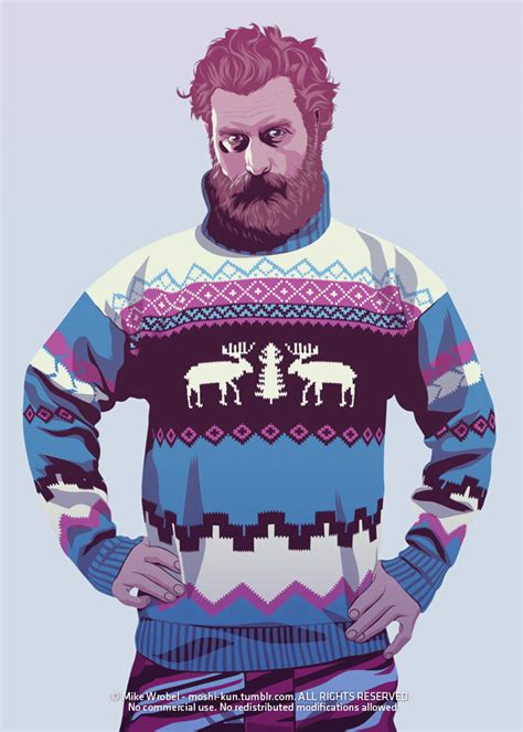 Sweater Baratheon Our Is Pury Of Thrones Kvhu of thrones characters in 80s 90s fashion part 2