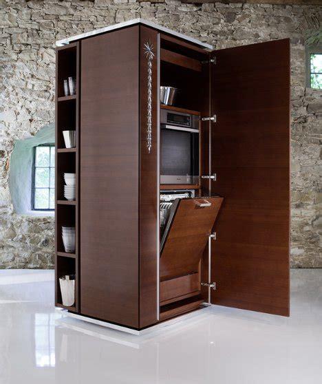 kitchen storage tower modular kitchen needs just 2 square meters of floor space