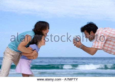 holding a camcorder stock photo: 90466834 alamy