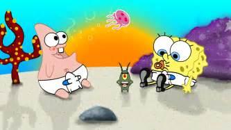 spongebob squarepants characters wallpaper
