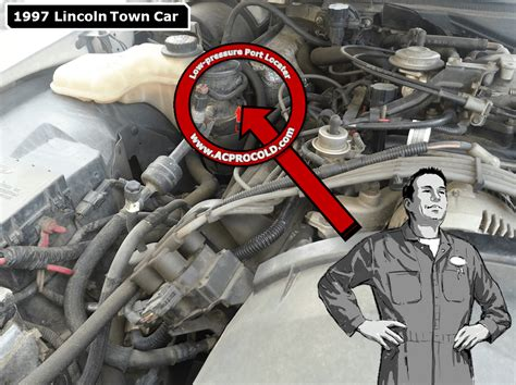 automobile air conditioning repair 1997 lincoln town car free book repair manuals 1997 lincoln town car ac pro