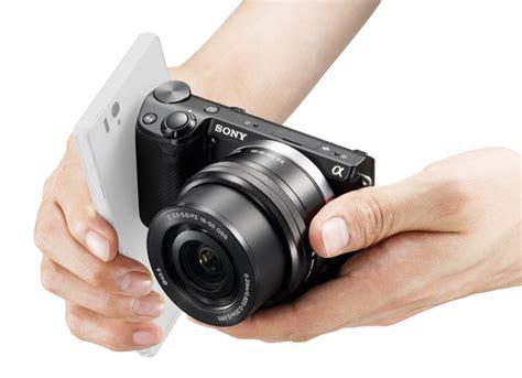 sony nex 5t sony nex 5t succeeds nex 5r with nfc wi fi touchscreen