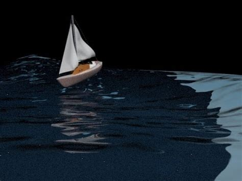 boat pictures animated 3d max boat on water with animated waves youtube