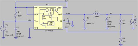 mc34063 inductor current building a smps based on the mc34063 part 1 testing the base circuit configuration