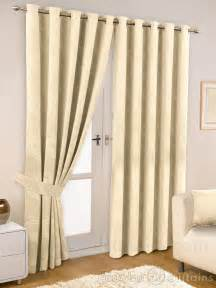 ivory thermal lined eyelet curtain curtains and