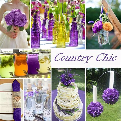wedding color combos get 20 country chic weddings ideas on without