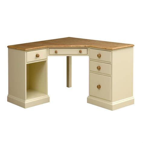Painted Corner Desk Wiltshire Painted Corner Office Desk M433 With Free Delivery The Cotswold Company Cd P