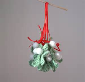 items similar to mistletoe ornament holiday traditional