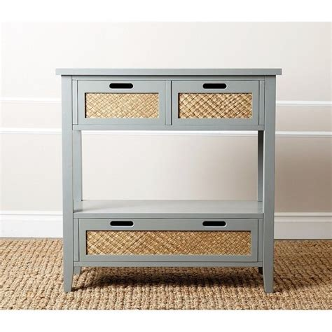Blue Sofa Table Abbyson Living Olvera Console Sofa Table In Antiqued Steel