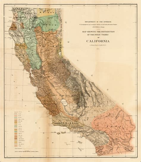 american tribes in california map california danryan us