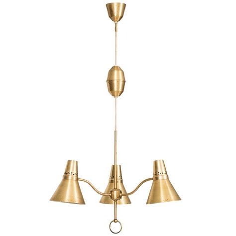 Standard Height For Pendant Lights Height Adjustable Ceiling L In Brass By Ab E Hansson And Co For Sale At 1stdibs