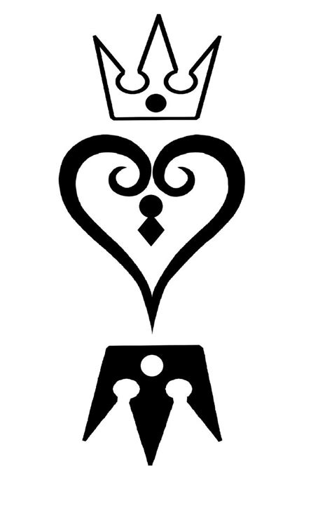 heart with crown tattoo designs 25 best ideas about kingdom hearts on