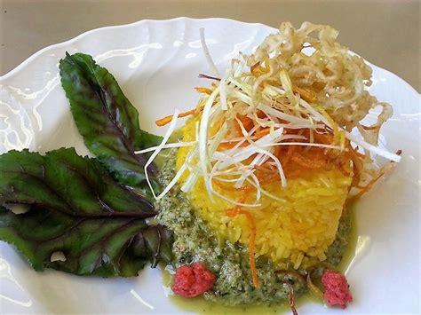 ricette sedano verde riso basmati con pesto di sedano verde senza glutine