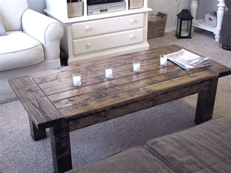 How To Build A Simple Coffee Table with Plans For Building A Wood Coffee Table 187 Plansdownload