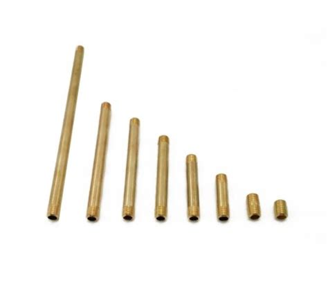 brass tube stock pm research pipe nipples pm research