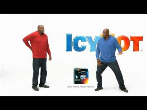 icy hot commercial youtube shaq icy hot commercial quot dance moves quot youtube