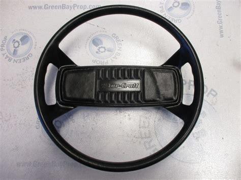 ebay boat steering wheel vintage yarcraft marine boat steering wheel 13 5 quot ebay