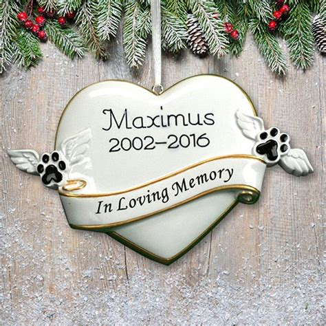 personalized in loving memory pet ornament giftsforyounow