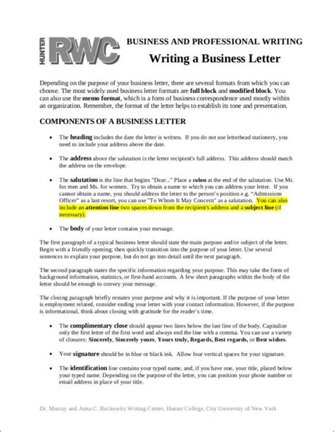 Where Does The Date Go On A Business Letter