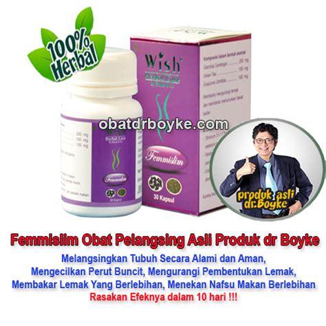 femmislim obat pelangsing produk wish dokter boyke