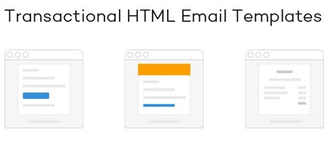transactional email templates transactional html email templates designbeep