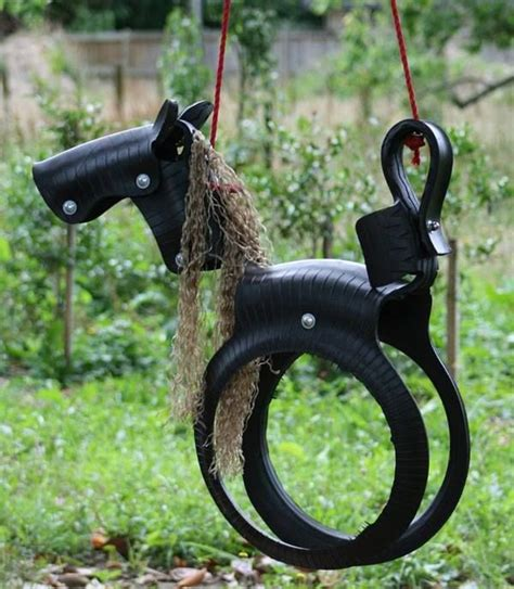 how to make a tire horse swing 25 best ideas about tire swings on pinterest diy tire