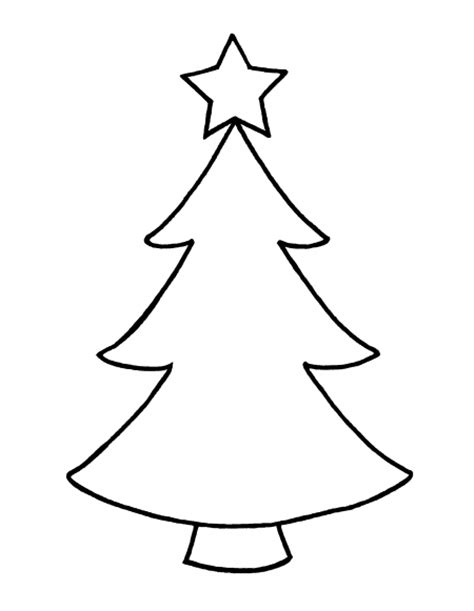 best photos of full page christmas tree template