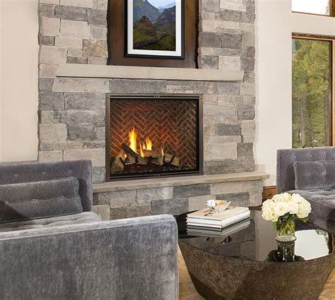 marquis ii 36 clean direct vent fireplace by majestic