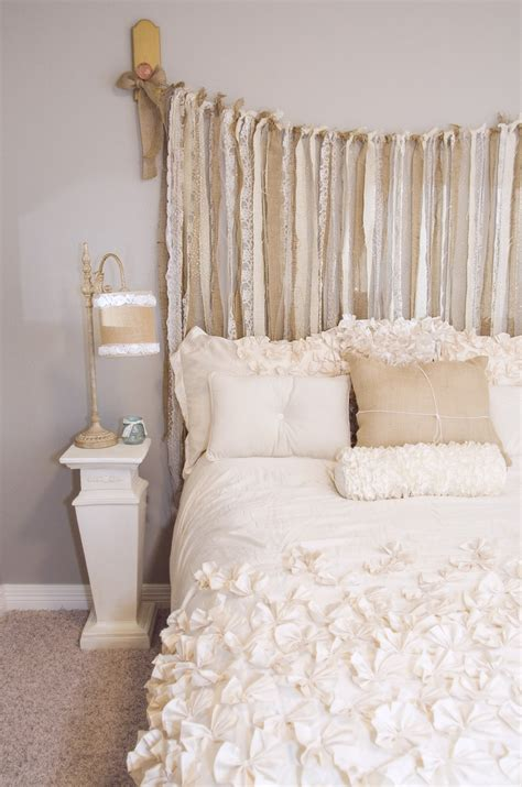 alternative headboard ideas whimsical alternative to a headboard ribbon dream home