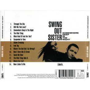 swing out sister mp3 somewhere deep in the night swing out sister mp3 buy