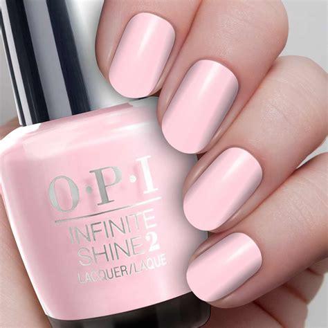 opi gel polish light pink pretty pink perseveres opi