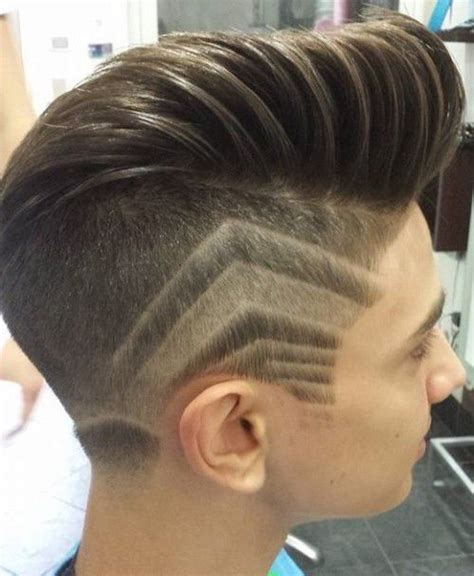 patterns for haircuts sleek undercut with side patterns men s hairstyles