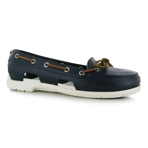 crocs boat shoes crocs womens beach boat shoes ladies slip on cut out
