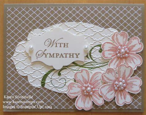 make a sympathy card sympathy card made with flower shop st set sting