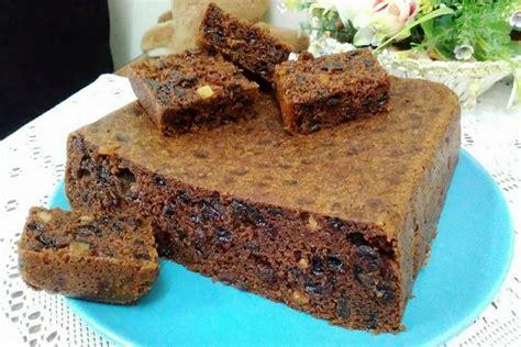 kek buah kukus jimat masa cepat mudah dan ringkas resipi kek buah kukus moist yang mudah terlajak sedap