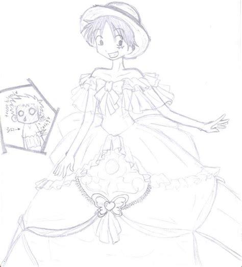 Dress Noriko luffy in a dress by noriko sakuma on deviantart