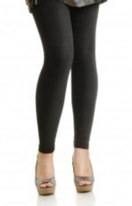 40199 Black Lined Tight Size S mysasi fleece lined footless in black one size