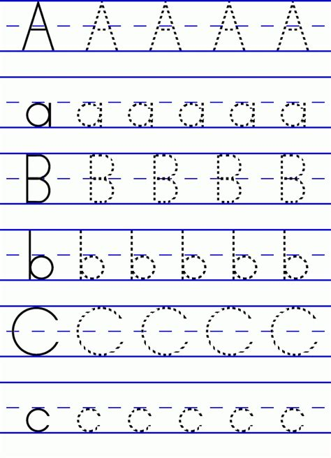 alphabet letters learning to write sle letter template