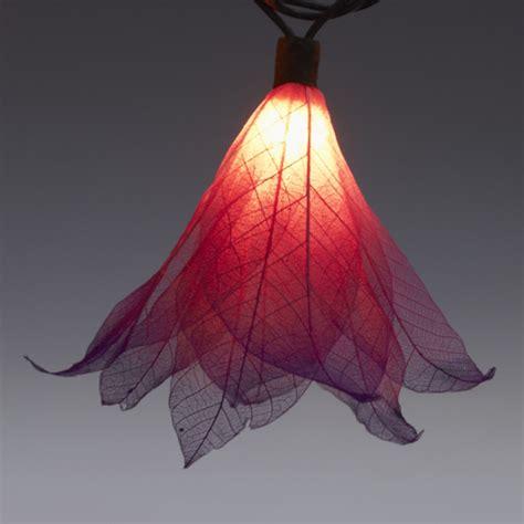 9ft Tropical Flower Lights 110v Ac String Lights Fuchsia Tropical String Lights