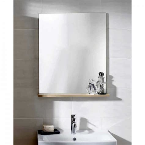 Noble Primo Mirror With Shelf Uk Bathrooms Mirror Shelves Bathroom