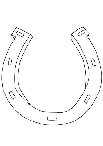 coloring page horseshoe coloring page horseshoe monograms fonts printables
