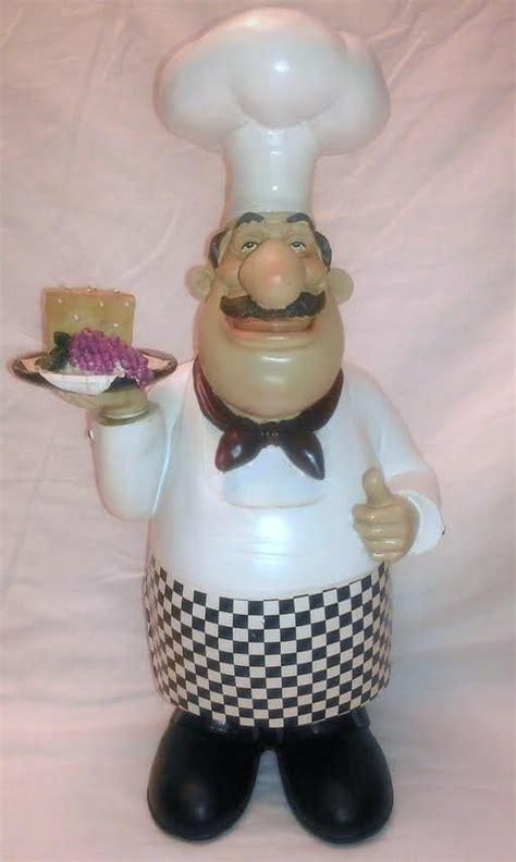 Chef Kitchen Decor Items by Chef Italian Bistro Statue Large Figurine