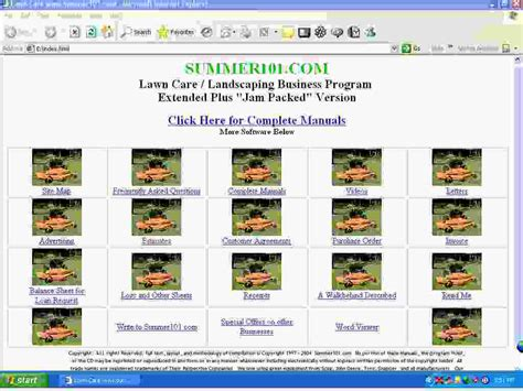 landscaping business software alabama lawn care business software program for birmingham montgomery mobile