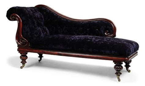victorian chaise lounge a victorian mahogany chaise lounge mid 19th century