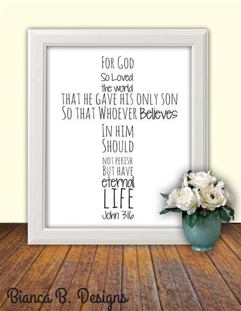 printable scripture wall art bible verse print john 3 16 printable scripture wall art