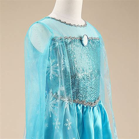 Terbatas Real Picture No Edit Kostum Elsa Frozen Dress Baju Pesta Im jual kostum elsa frozen dress baju pesta import gaun