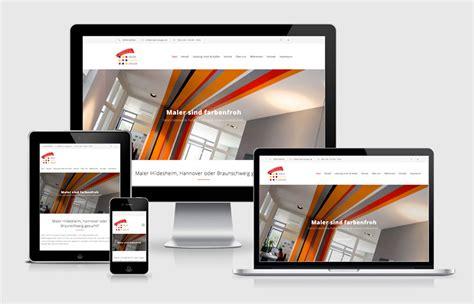 maler hildesheim neue website f 252 r maler dr 228 ger mobil und im neuen design