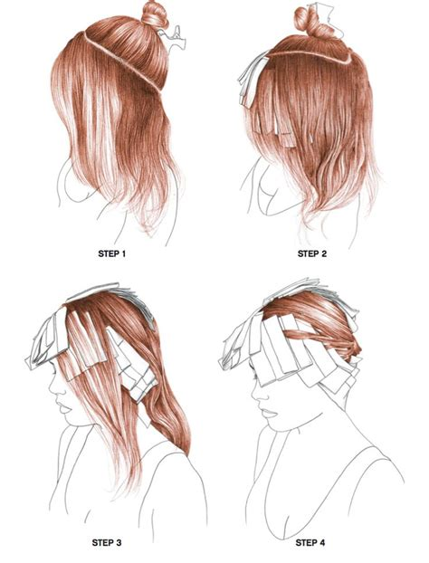 house of highlights trendy hair highlights radiance step by step on bangstyle house of hair
