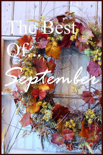 september decorating ideas 637 best images about seasonal decorating ideas on