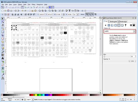 coreldraw geology pattern fill usgs inkscape pack instructions and download link